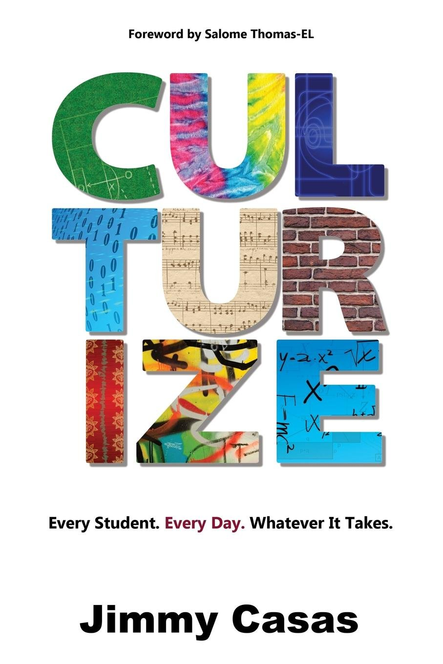 Cover of Jimmy Casas' book Culturize