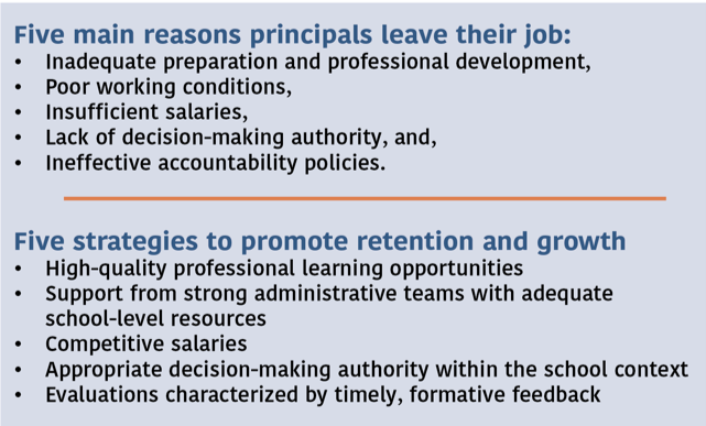 Main Reasons to Leave Job / Strategies to Retain