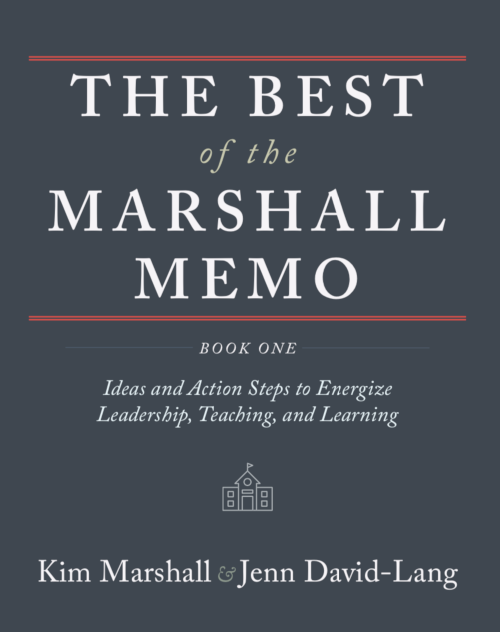 Image of the cover of The Best of the Marshall Memo