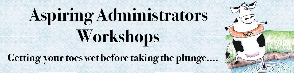 Aspirin Administrators Workshop Banner