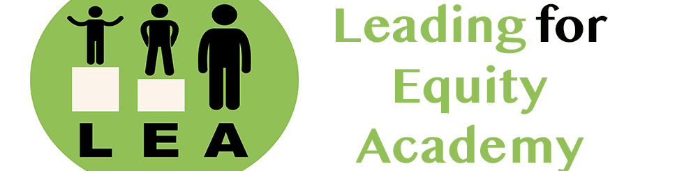Leading for Equity Banner. Click to go to page